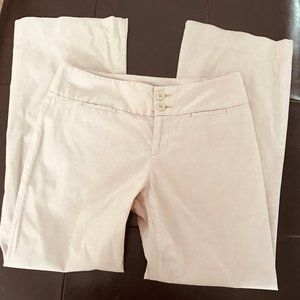 🍍Calvin Klein Tan Trousers Wide Leg